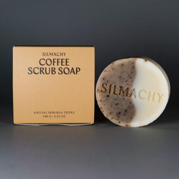 kafijas skrubja ziepes
